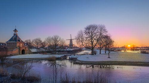 Koude morgen in Gorinchem
