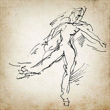 Tänzer dann und jetzt 2 von ART Eva Maria