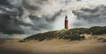Leuchtturm von Texel von Marinus Engbers