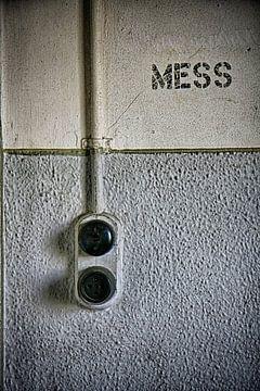 Lichtschalter Urbex Standort von Yvonne Smits