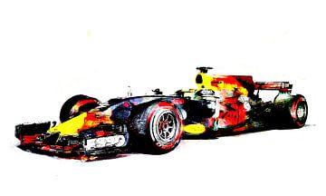 Red Bull F1 Max Verstappen van PictureWork - Digital artist