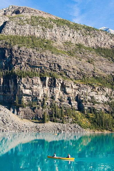 Moraine Lake, Jasper National Park van Johan van Venrooy