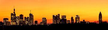 Frankfurt Skyline Panorama von Christian Klös