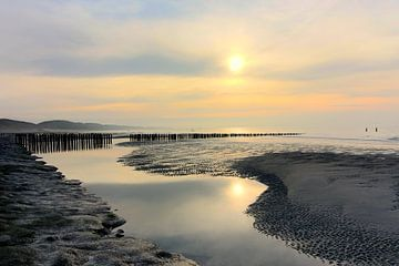 Strand van Zoutelande van Robert Van den Bragt