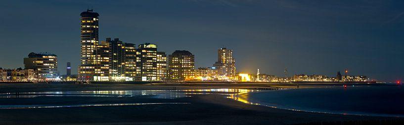Panorama Skyline Vlissingen van Anton de Zeeuw