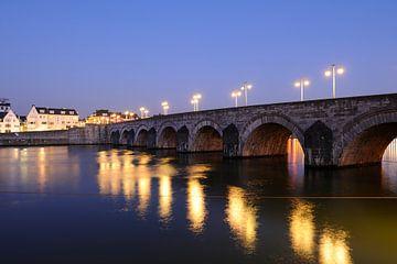 Sint-Servaasbrug over de Maas in Maastricht von Merijn van der Vliet