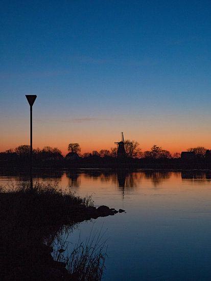 Molen Welsum over de IJssel