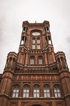 Marienkirche alexanderplatz Berlijn von thomas van der Wijngaard