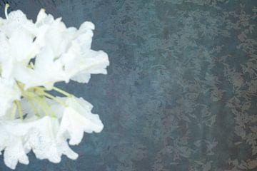 Ophelia #4 (De vijver) (versie met bloem links) van Remke Spijkers