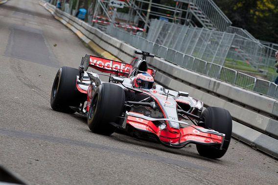 Jenson Button van Richard Driessen