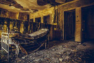 Donkere slaapkamer van Tamara de Koning