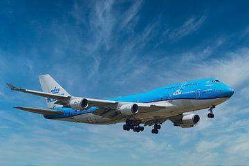 KLM PH-BFV Boeing 747-400M, City of Vancouver van Gert Hilbink