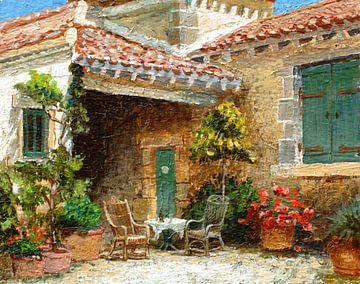 Scheune der Provence von Trevor Neal