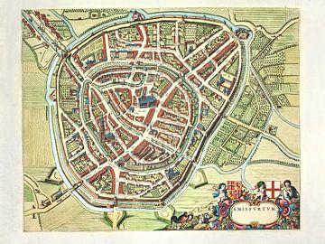 Karte Amersfoort - 1640-1650