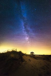 Melkweg Veluwe Nederland van