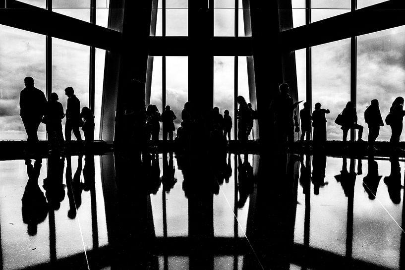 Uitzicht one World Trade Center van Sjoerd Tullenaar