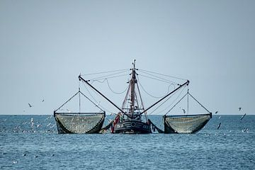 Vissersboot van Margreet Boersma
