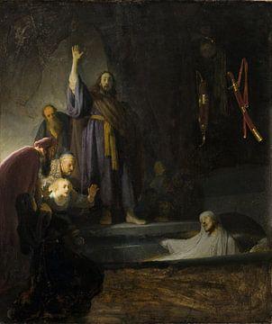 The Raising of Lazarus, Rembrandt van Rijn sur