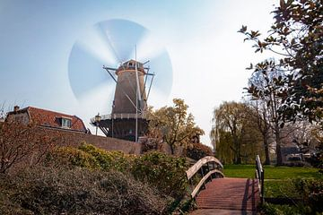 Ventilator over warm IJsselstein van