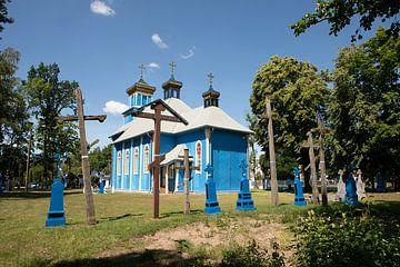 Tartar moskee in het oosten van Polen van Eric van Nieuwland
