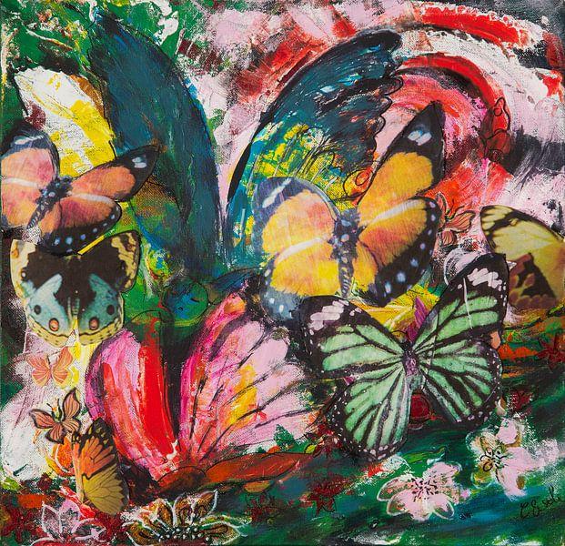 Vlindertjes van Carmen Eisele