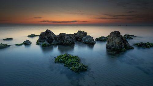Voor zonsopkomst aan zee von Jenco van Zalk