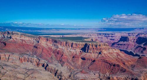De grote kloof, Grand Canyon, Noord Amerika