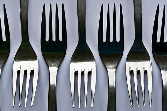 Ritme van de vorken van Christa Thieme-Krus