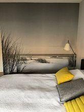 Klantfoto: Zomer op het strand van Sjoerd van der Wal, als behang