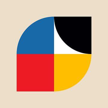 Bauhaus Inspiré sur Harry Hadders