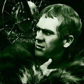 Legends - Steve McQueen - zwart-wit van Christine Nöhmeier