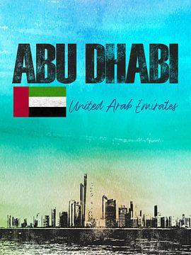Abu Dhabi von Printed Artings