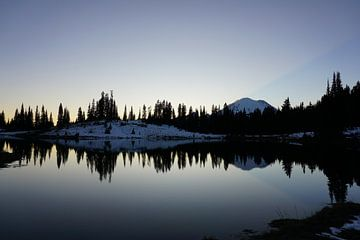 Mount Rainier van Jan-Thijs Menger