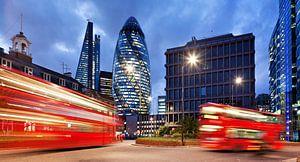 Londen - Financieel district van