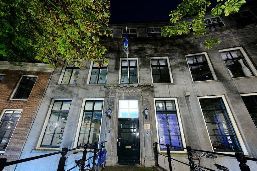 Hogeschool Schoevers aan de Kromme Nieuwegracht 3 in Utrecht van Donker Utrecht
