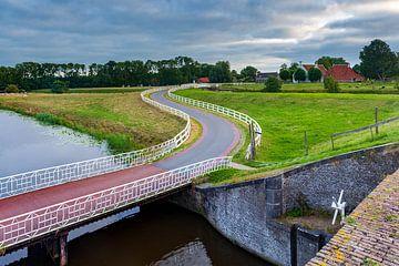 Dorpsgezicht Aduarderzijl in de provincie Groningen van Evert Jan Luchies