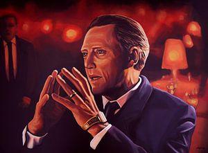 Christopher Walken schilderij