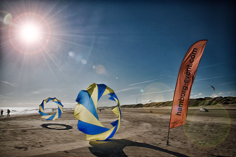 Dänemark mit Bol am Strand von Dirk Bartschat