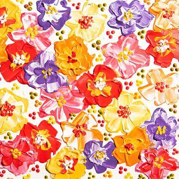 Schöne Blumen malen von Bianca ter Riet