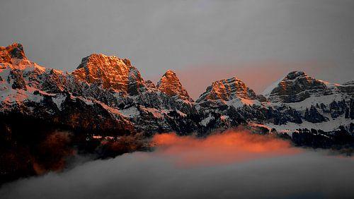 Alpen Sonnenaufgang