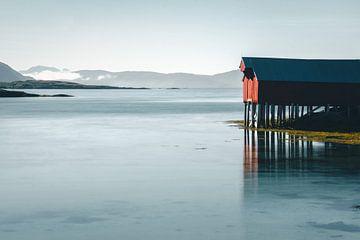 Rorbu in Norwegen von Kimberley Jekel