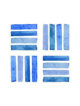 Community-Unterstützung / Blaue Serie 3 von 4 fühlen von Natalie Bruns