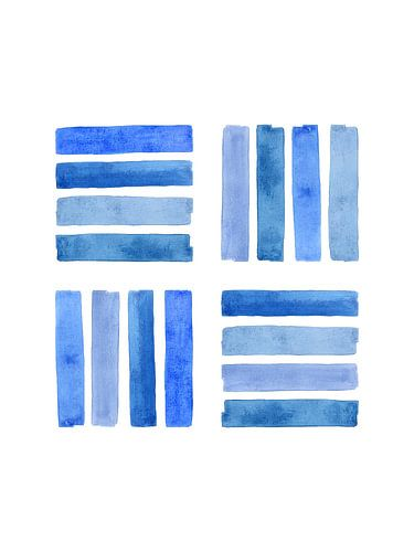 Steun van een netwerk / Feeling blue serie 3 van 4