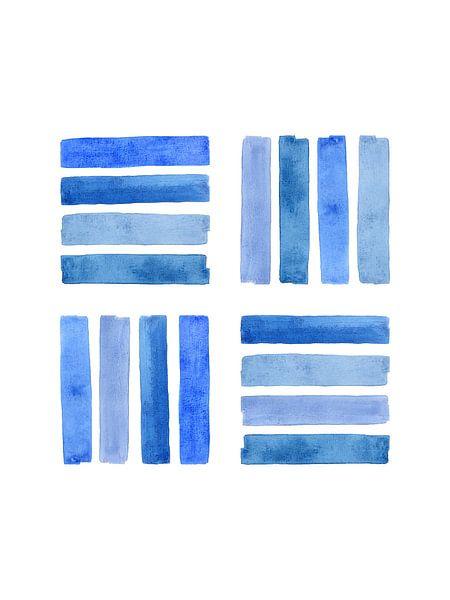 Steun van een netwerk / Feeling blue serie 3 van 4 van Natalie Bruns