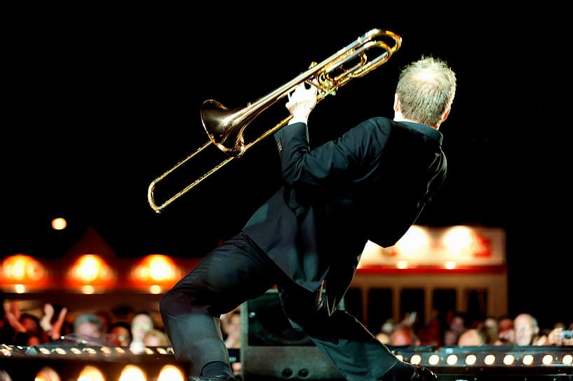The Trombone  van Brian Morgan