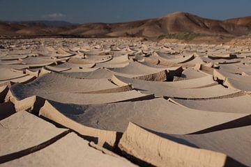 Gespaltene Erdkruste, Pan de Azúcar-Nationalpark, Chile von A. Hendriks