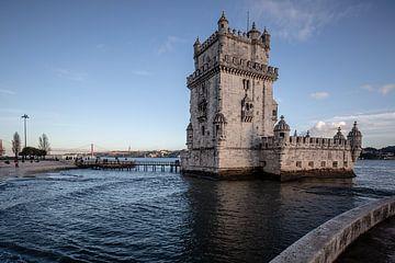 Torre de Belem in Lissabon van Eric van Nieuwland