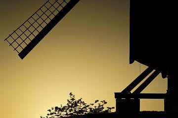 La voile du moulin à vent sur Rik Verslype