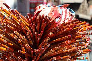 Houten Nepalese fluiten