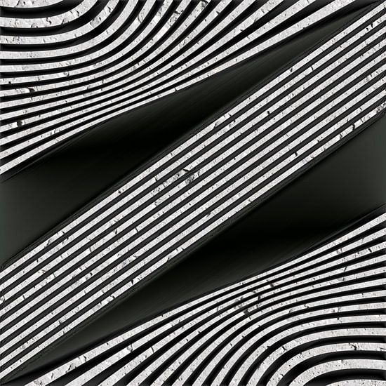 Geometrische Lijnen - Metaalkunst II
